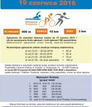 Triathlon ulotka